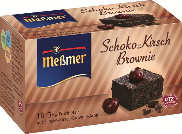 Meßmer Schoko-Kirsch-Brownie, 18er