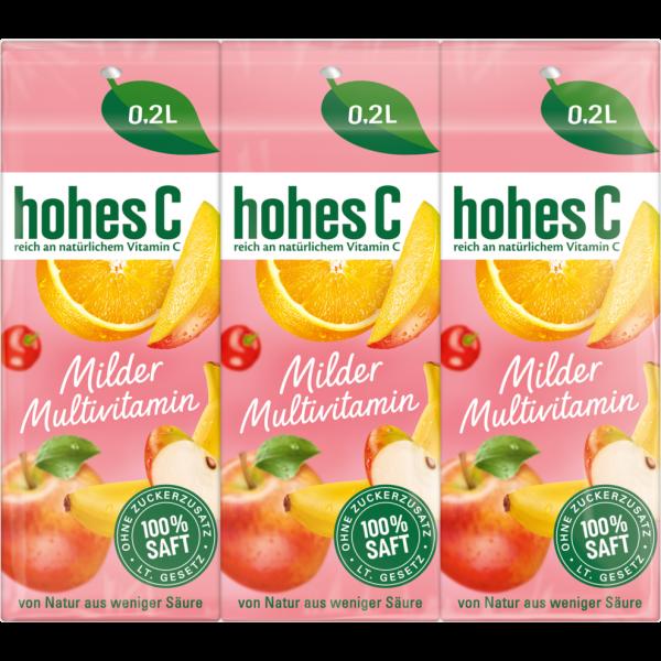 HOHES C MILDE MULTI 3/0,2L PG
