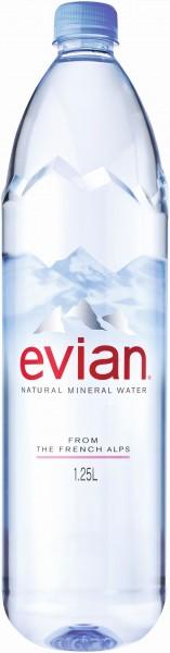 Evian Mineralwasser 1,25L