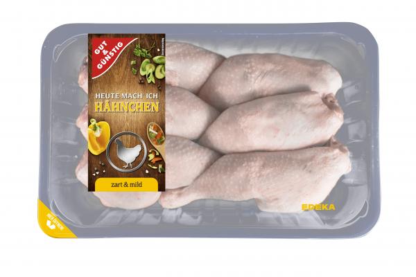 GUT&GÜNSTIG Hähnchen-Keulen 1,1kg