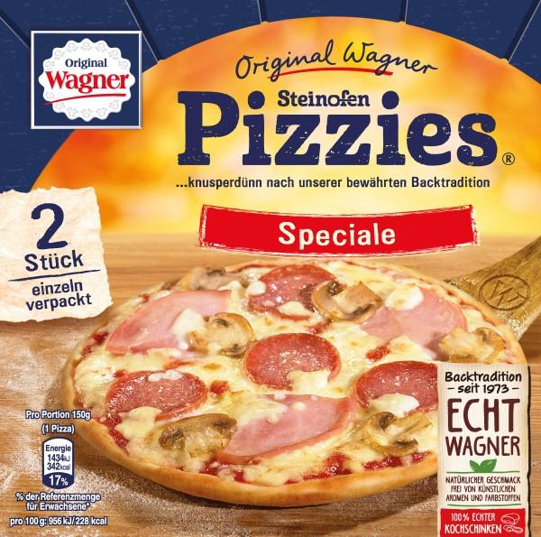 Original Wagner Steinofen Pizzies Speziale, 2er