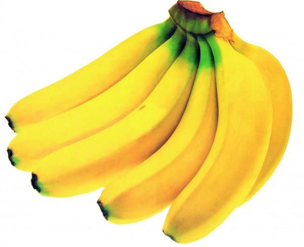 Bananen G&G gelb, Stück