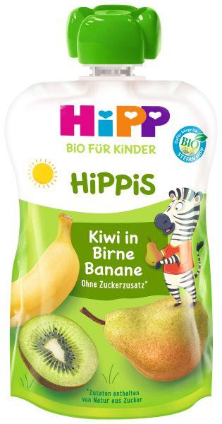 BIO HIPP HIPPIS Kiwi in Birne Banane 100g