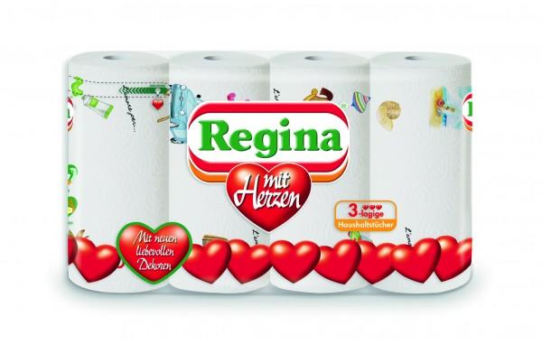 Regina Küchenrolle, 4er Packung