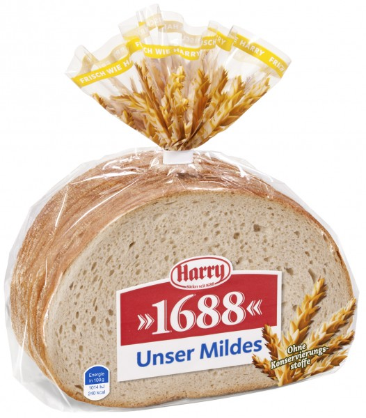 Harry 1688 Unser Mildes, 500g