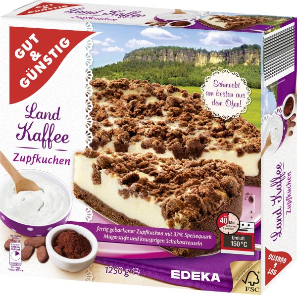 Gut U0026 Günstig Landkaffee Zupfkuchen, 1250g