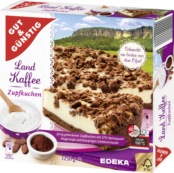 Gut Gunstig Landkaffee Zupfkuchen 1250g Kuchen Backwaren
