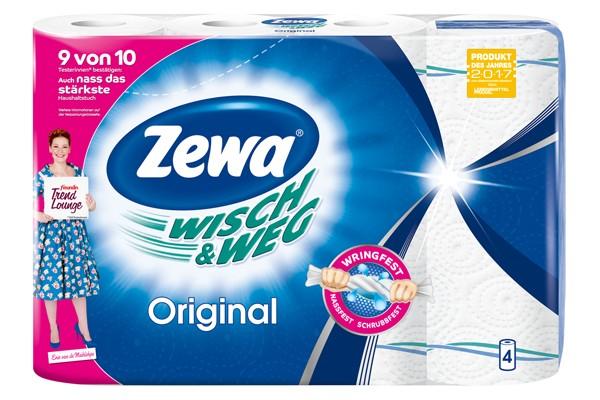 ZEWA Wisch & Weg Original 4x45 Blatt