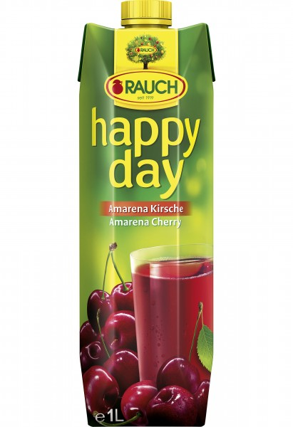 Rauch Happy Day Amarena Kirsch, 1 Liter