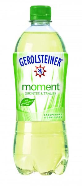 Gerolsteiner Moment Grüntee & Traube, 0,75L