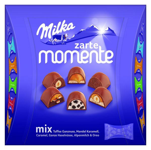 MILKA MOMENTS MIX 169G