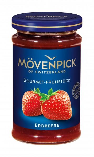 Mövenpick Gourmet-Frühstück Erdbeer Fruchtaufstrich, 250g