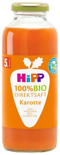 BIO HIPP Direktsaft Karotte 0,33L