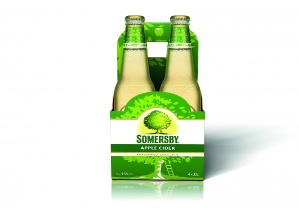 SOMERSBY APPLE CIDER 4/0,33L
