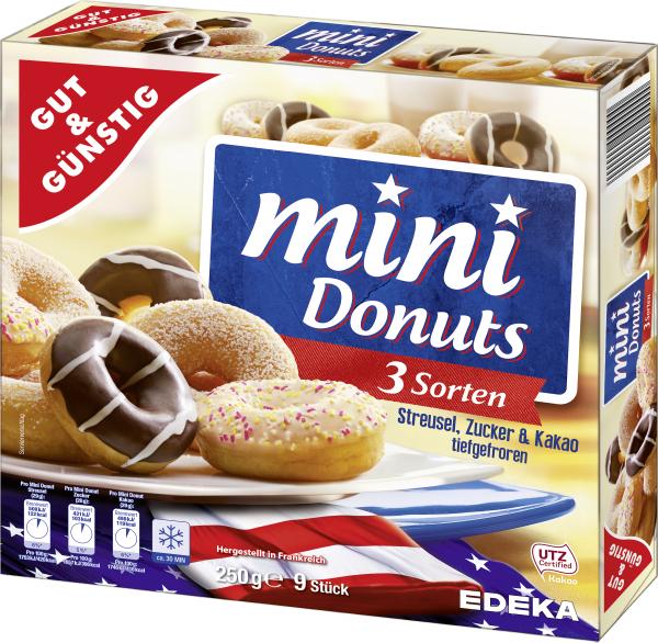 Gut U0026 Günstig Mini Donuts, 250g