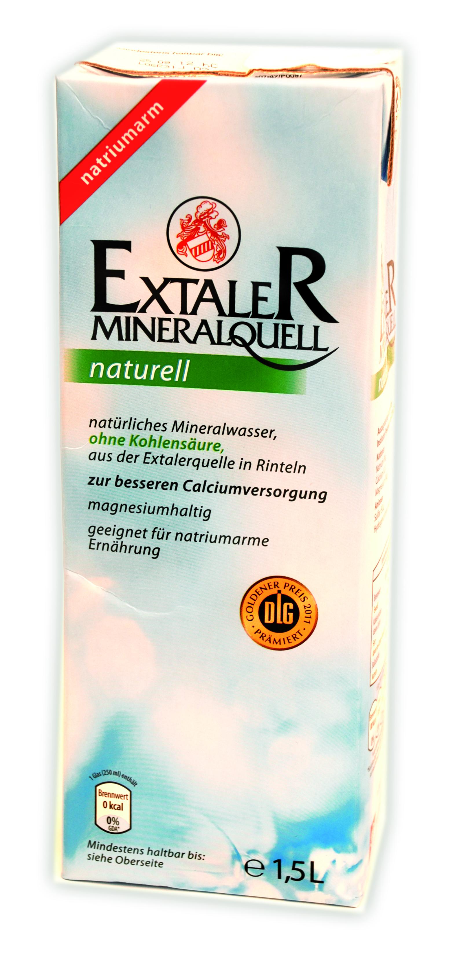 extaler mineralwasser naturell 1 5l wasser. Black Bedroom Furniture Sets. Home Design Ideas