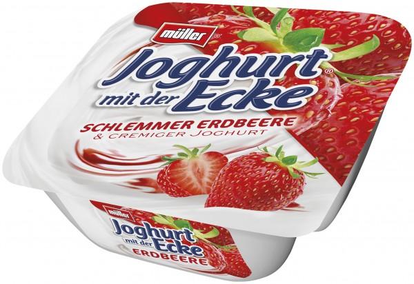 Müller Schlemmerjoghurt Erdbeer 150g