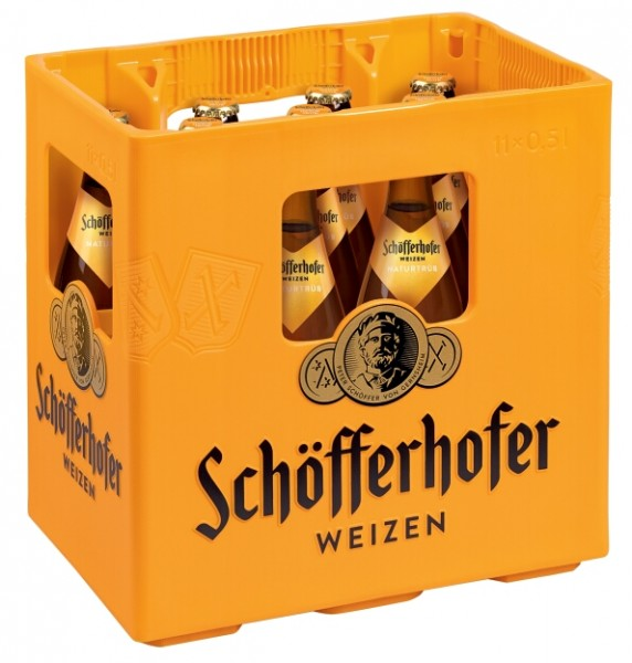 SCHOEFFERHOFER HEFEWEIZ.11X0,5L