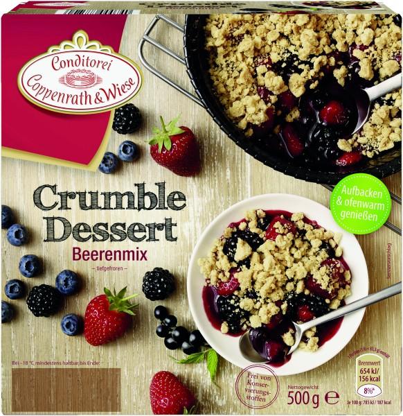 Coppenrath & Wiese Crumble Dessert Beerenmix, 500g