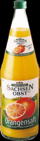 Sachsenobst Orangensaft, 1L