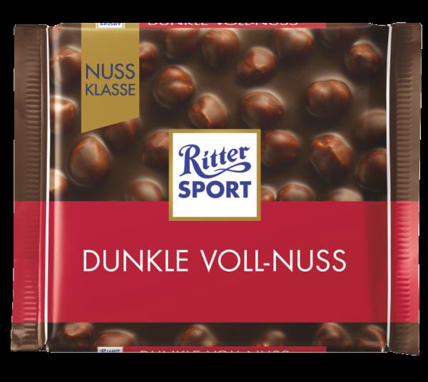 Ritter Sport Dunkle Voll-Nuss, 100g