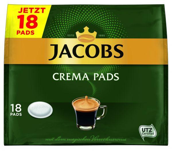 Jacobs Pads Crema 18er 118g