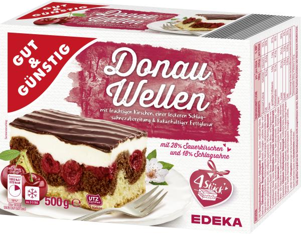 Gut Gunstig Donauwelle 500g Kuchen Backwaren Tiefkuhlung