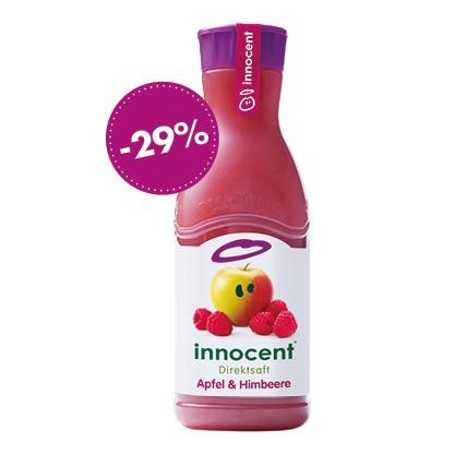 Innocent Apfel & Himbeere, 900ml