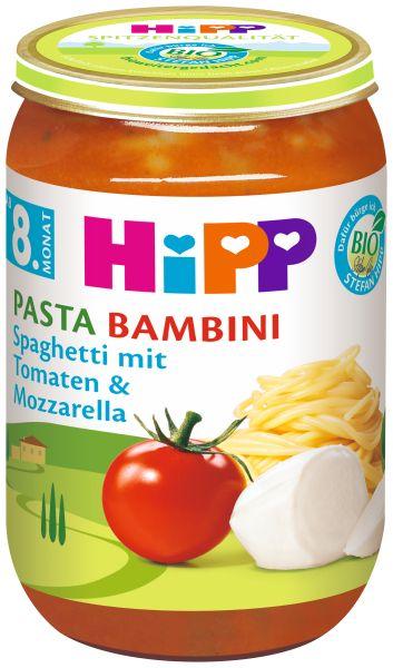 BIO HIPP Spaghetti Tomate Mozzarella 220g