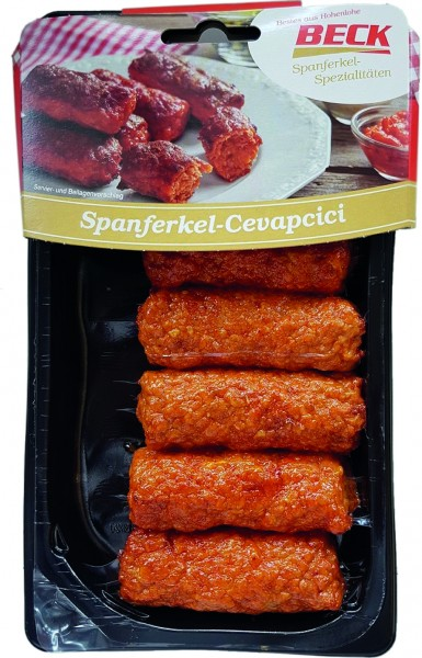 Beck Spanferkel Cevapcici, 300g