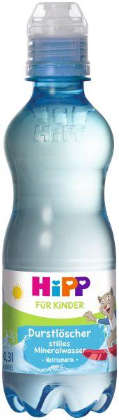 HIPP Durstlöscher stilles Mineralwasser 0,3L DPG