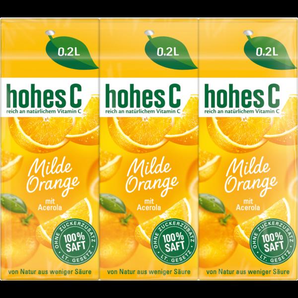 HOHES C MILDE ORANGE 3/0,2L PG