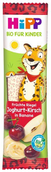 BIO HIPP Früchte Riegel Joghurt Kirsch in Banane 23g