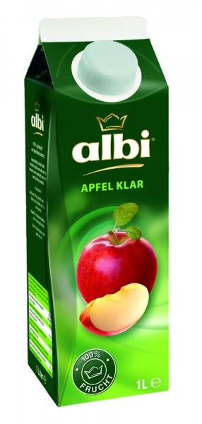 Albi Apfelsaft klar, 1 Liter