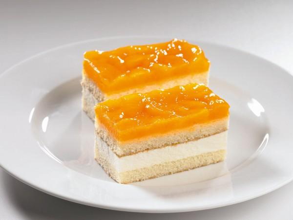 Mandarinen Käse Sahne Schnitte