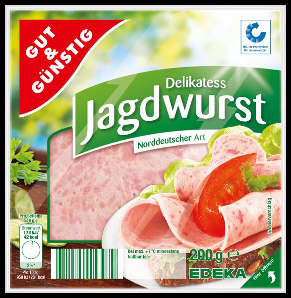 Gut & Günstig Delikatess Jagdwurst