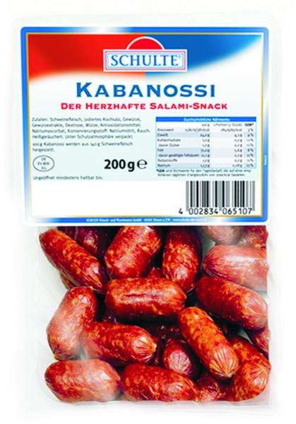 Schulte Kabanossi, 200g
