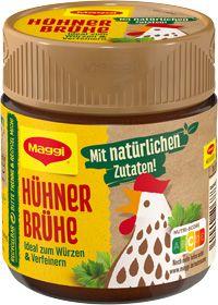 Maggi Hühner Brühe für 4 Liter 92g