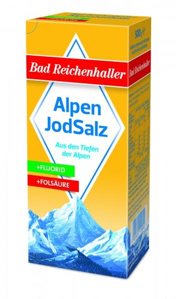 Bad Reichenhaller Alpenjodsalz, 500g