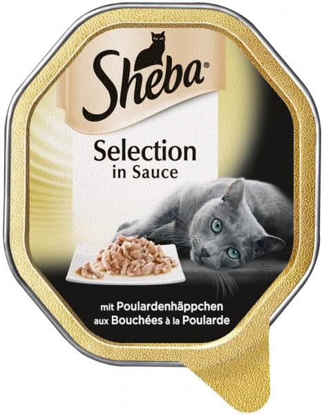 Sheba Selection mit Poulardenhäppchen, 85g