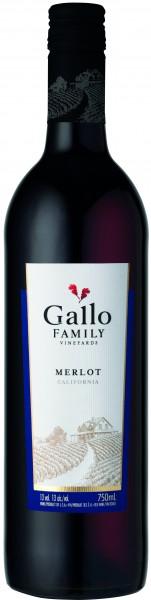 Gallo California Merlot, 0,75L