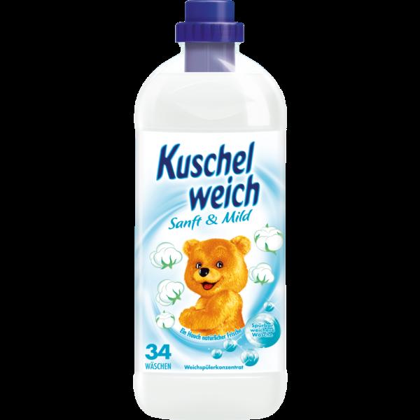 Kuschelweich sanft & mild 1L