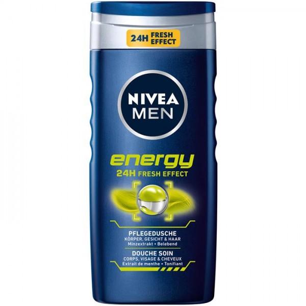 NIV.MEN DUSCHE 250ML ENERGY