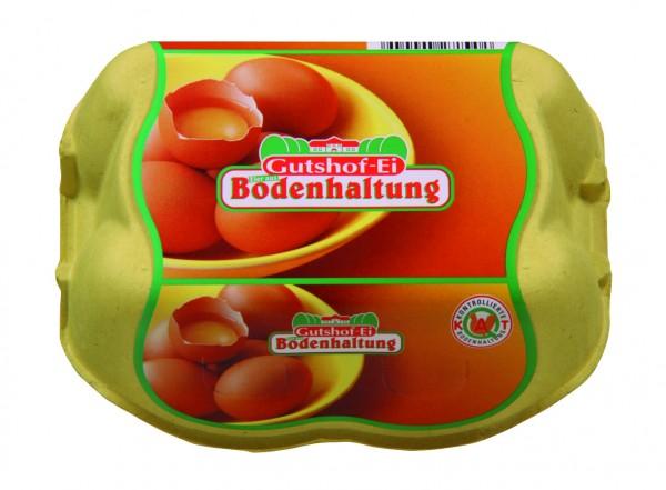 Gutshof-Ei Eier aus Bodenhaltung, 6er Packung