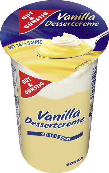 Gut & Günstig Vanilla Dessertcreme 200g