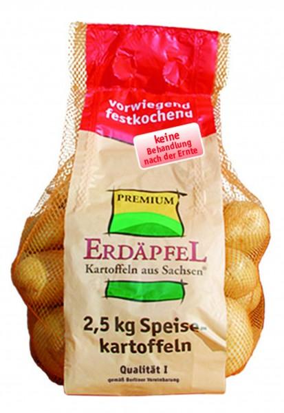 ERDÄFPEL aus Sachsen Kartoffeln vorwiegend festkochend Deutschland,Sachsen 2,5kg Girsac / Carry Fres