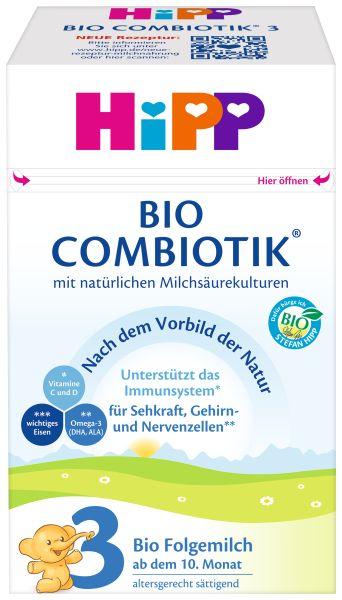 BIO HIPP 3 COMBIOTIK Folgemilch 600g