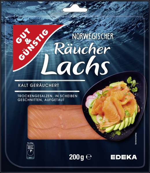 G&G RAEUCHERLACHS 200G