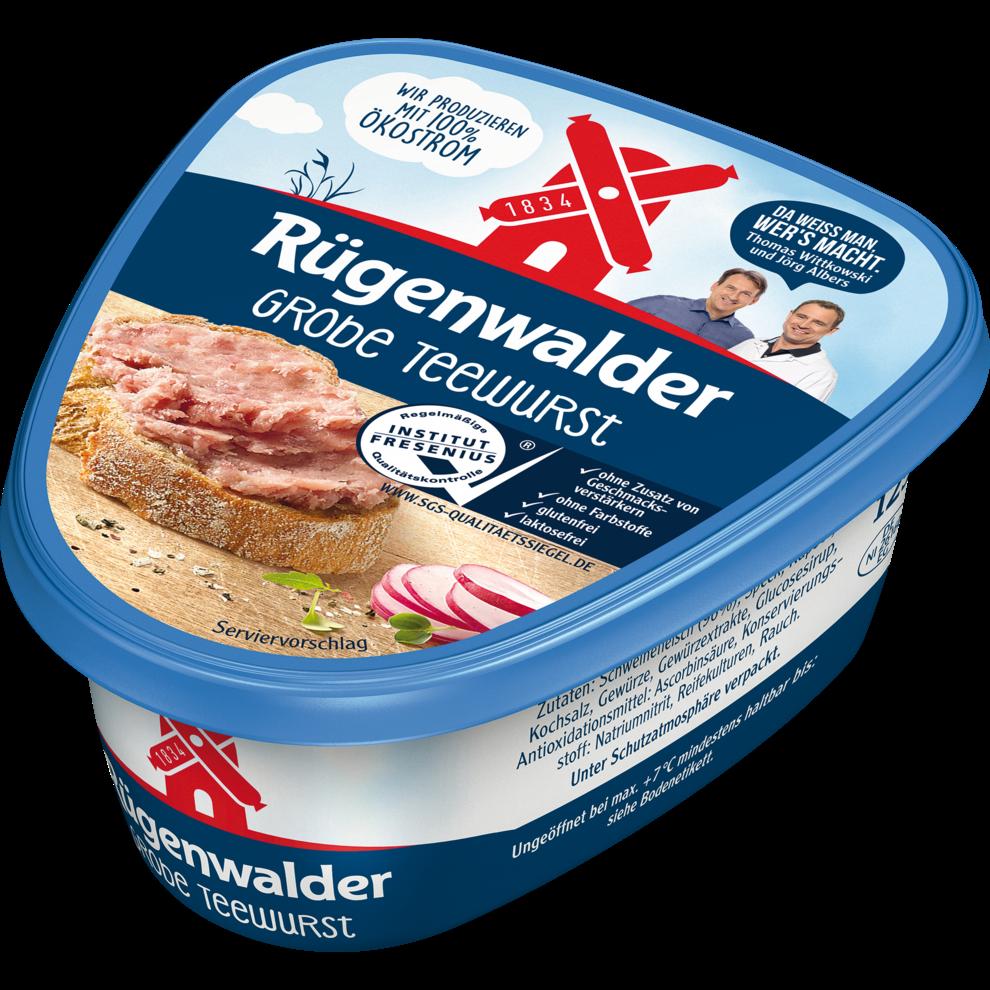 RГјgenwalder Teewurst Grob