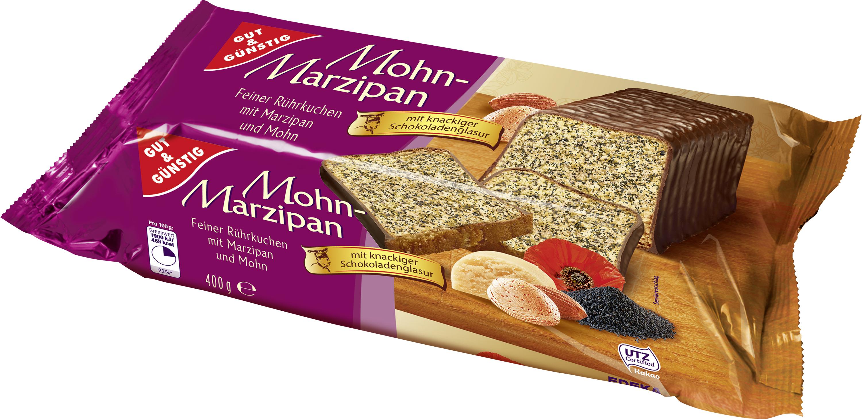 Perfekt Gut U0026 Günstig Mohn Marzipan Kuchen , 400g | Kuchen | Backwaren |  Lebensmittel | Alle Produkte | Online Bestellen | Konsum Leipzig